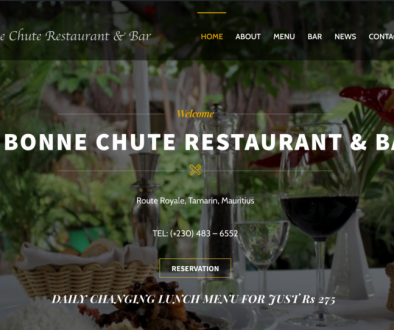 La Bonne Chute Restaurant, Dinner in Mauritius